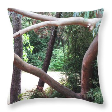 Madrona Throw Pillow