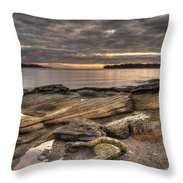 Madrona Point Throw Pillow by Randy Hall