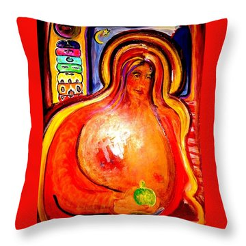 Madu Throw Pillow