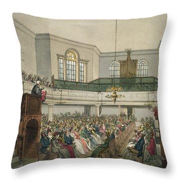 Magdalen Chapel Throw Pillow