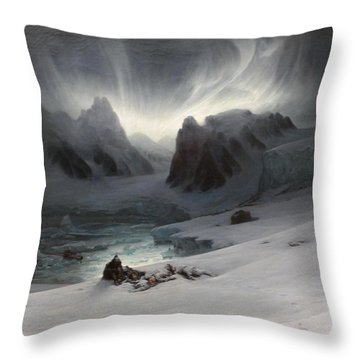 Magdalena Bay Throw Pillow