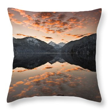 Magestic Throw Pillow by Jorge Maia