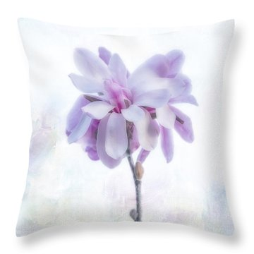 Throw Pillow featuring the photograph Maggie by Elaine Teague