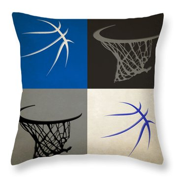 Magic Ball And Hoops Throw Pillow
