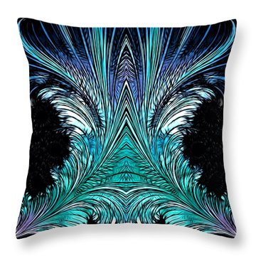 Magic Doors Throw Pillow