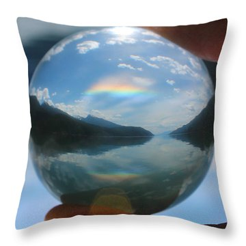 Magic In The Air Throw Pillow