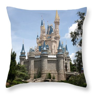 Magic In The Sunshine Throw Pillow