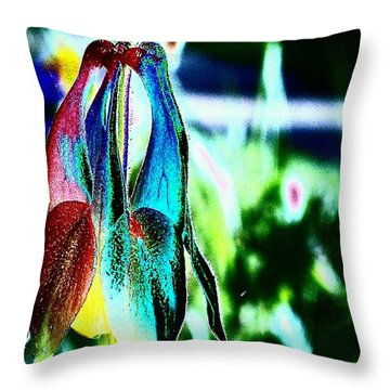 Magic Throw Pillow by Jacqueline McReynolds