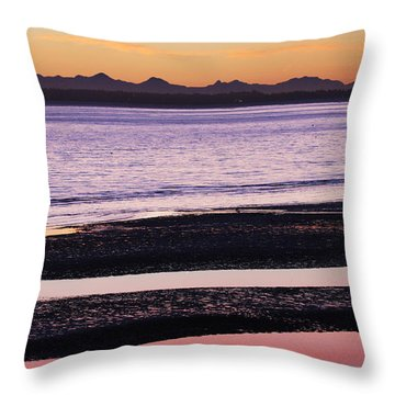 Magic Light  Throw Pillow by Elvira Butler