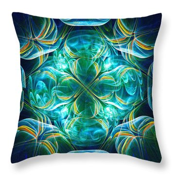 Magic Mark Throw Pillow