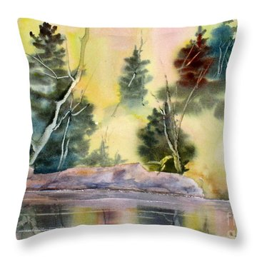 Magic Moments Throw Pillow by Mohamed Hirji