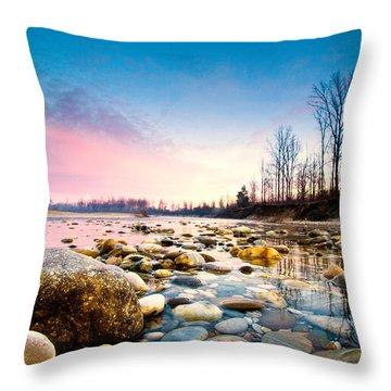 Magic Morning Throw Pillow by Davorin Mance