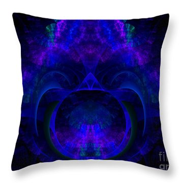 Magic Of Night Throw Pillow