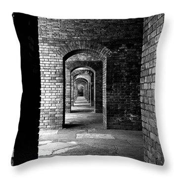 Magic Portal Throw Pillow by Robert McCubbin