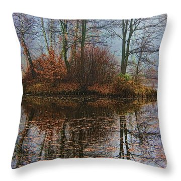 Magic Reflection Throw Pillow