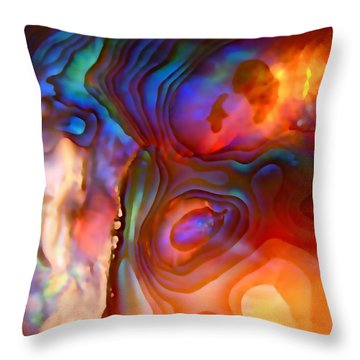 Magic Shell 2 Throw Pillow
