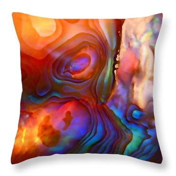 Magic Shell Throw Pillow