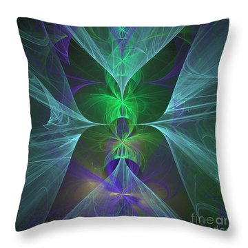 Magic Symbol Throw Pillow