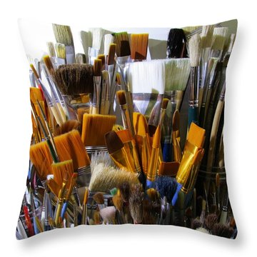Magic Wands Throw Pillow