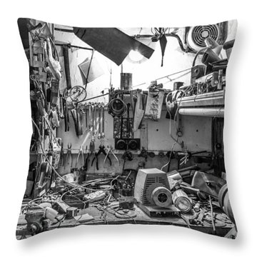 Magic Workshop Throw Pillow