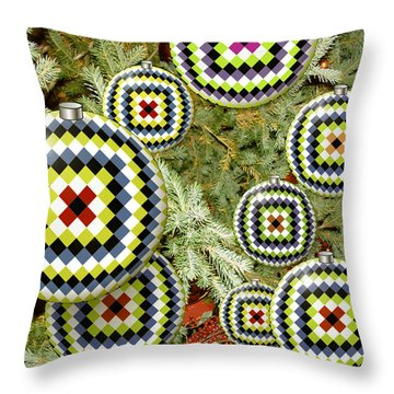 Magic Xmas Throw Pillow