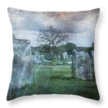 Magical Brittany Throw Pillow by Barbara Orenya
