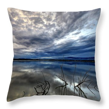 Magical Lake - Vertical Throw Pillow