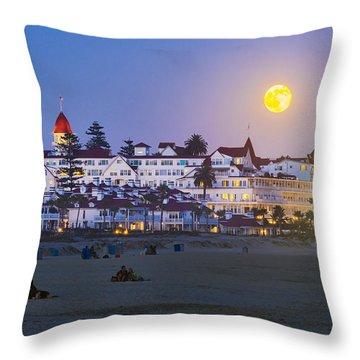 Magical Moonrise Throw Pillow