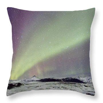 Magical Night Throw Pillow by Evelina Kremsdorf