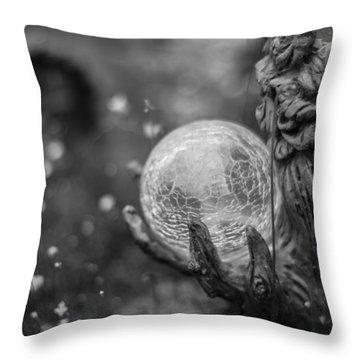 Magical Orb Throw Pillow