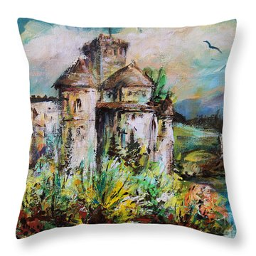 Magical Palace Throw Pillow