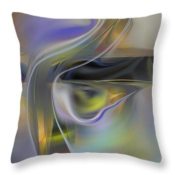 Magical Space And Time Throw Pillow