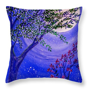 Magical Spring Throw Pillow