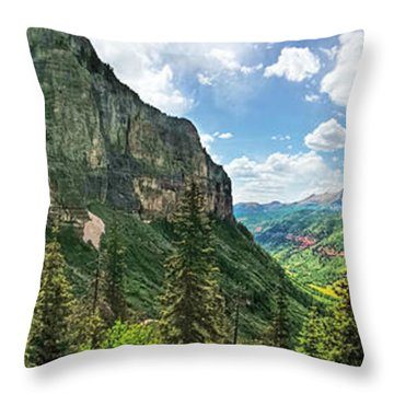 Magical Valley Throw Pillow