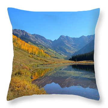 Magical View Throw Pillow