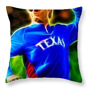 Magical Yu Darvish Throw Pillow by Paul Van Scott