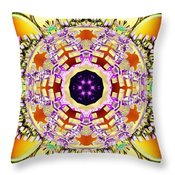 Magick Souls Throw Pillow