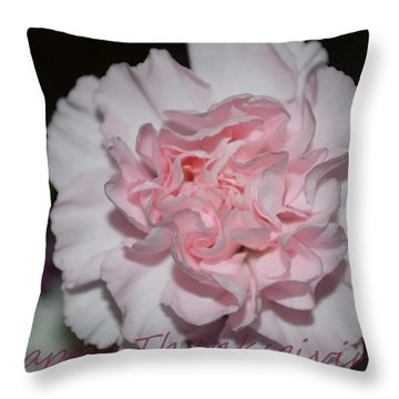 Magnetic Pink Throw Pillow