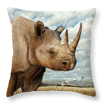 Magnificence Throw Pillow by Rob Dreyer