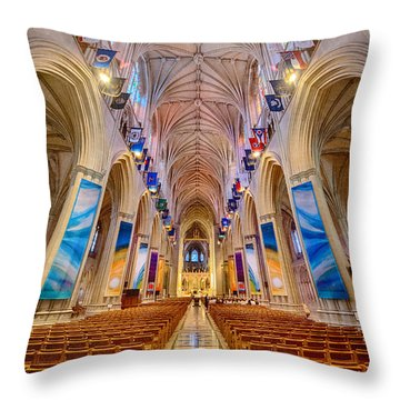 Magnificent Cathedral II Throw Pillow