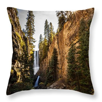 Magnificent  Mystic Falls  Throw Pillow by Steven Reed