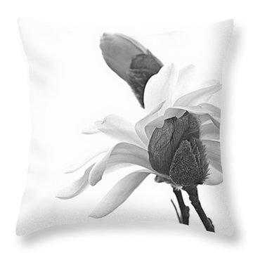 Magnolia Bloom 1 Throw Pillow by Tammy Schneider