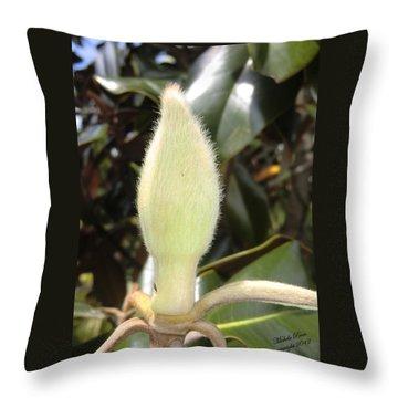 Magnolia - Essence Throw Pillow