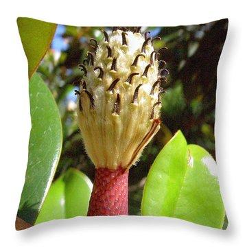 Magnolia Faith  Throw Pillow