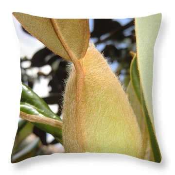 Magnolia Serenity - Signed Throw Pillow