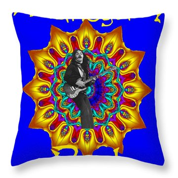 Mahogany Rush Art 1 Throw Pillow