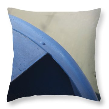 Mailboxes Throw Pillow by Stuart Hicks