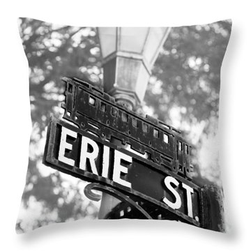 Main St V Throw Pillow