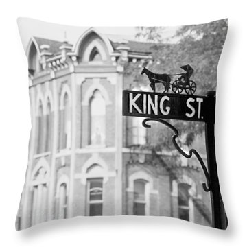 Throw Pillow featuring the photograph Main St Vi by Courtney Webster