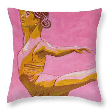 Main Stage V Throw Pillow by Xueling Zou